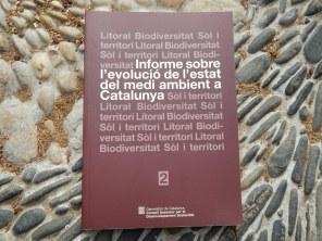 Informe sobre l'evolució de l'estar del medio ambiente a Catalunya