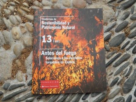 Cuadernos de Sostenibilidad y Patrimonio Natural - Antes del Fuego