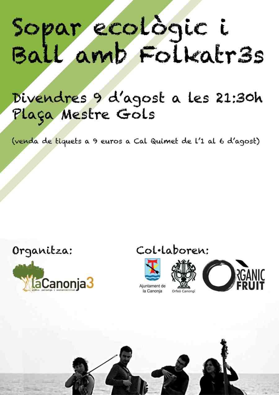 cartell sopar ecològic 2013