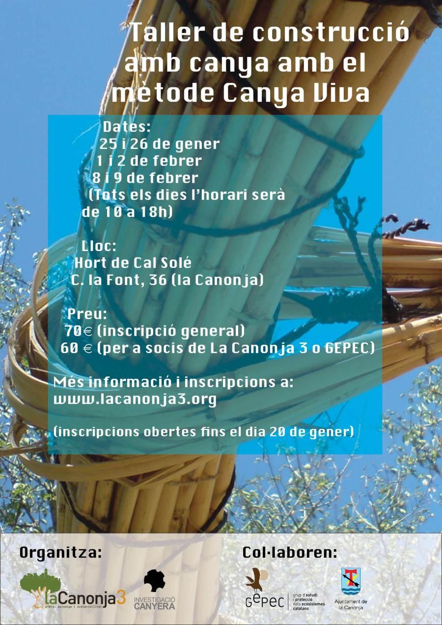 taller canyaviva lacanonja2014