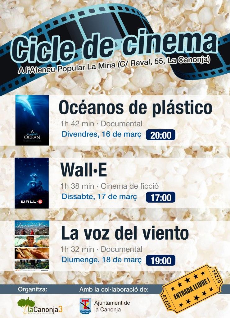 Cicle de Cinema sobre medi ambient a La Canonja